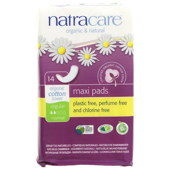 Natracare Press On Reg Towels (x14)