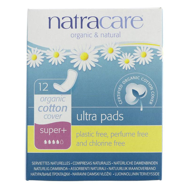 Natracare Ultra Pads Super Plus (x12)