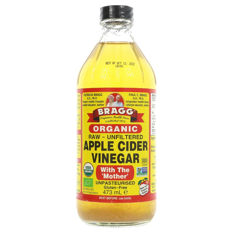 Bragg Apple Cider Vinegar w/Mother (473ml)