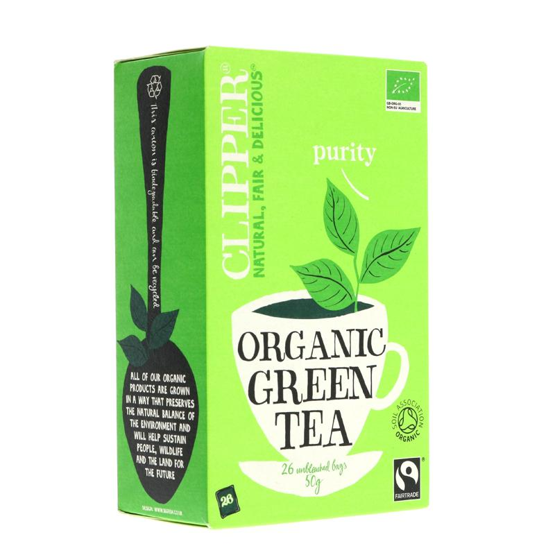 Clipper Green Tea - organic  (25 bags)