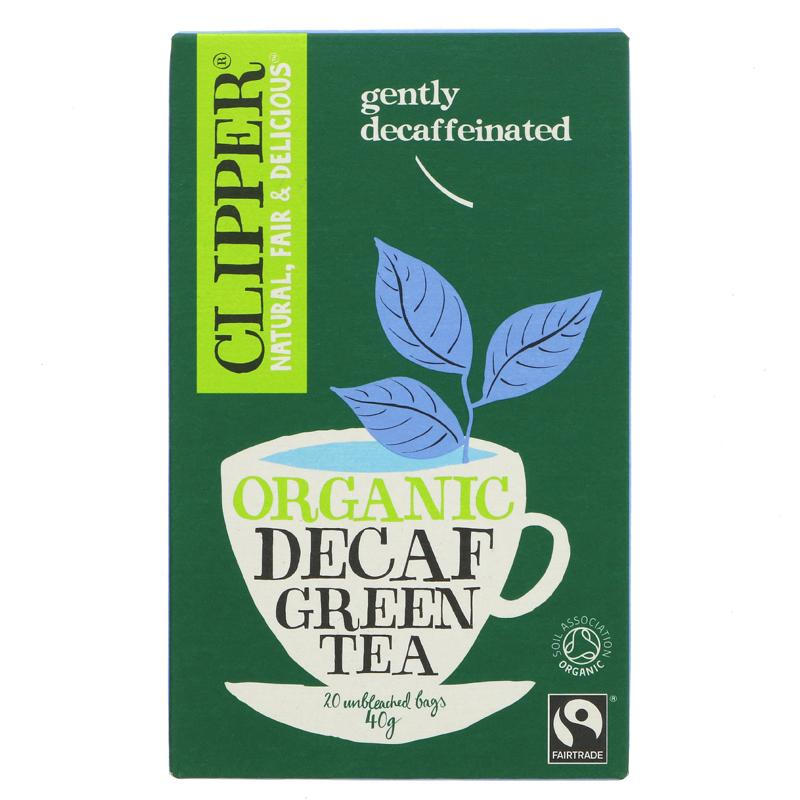 Clipper Organic Green Decaf Tea (20 bags)