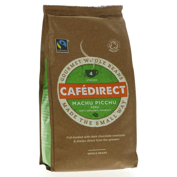 Cafedirect Machu Picchu Coffee Beans (227g)