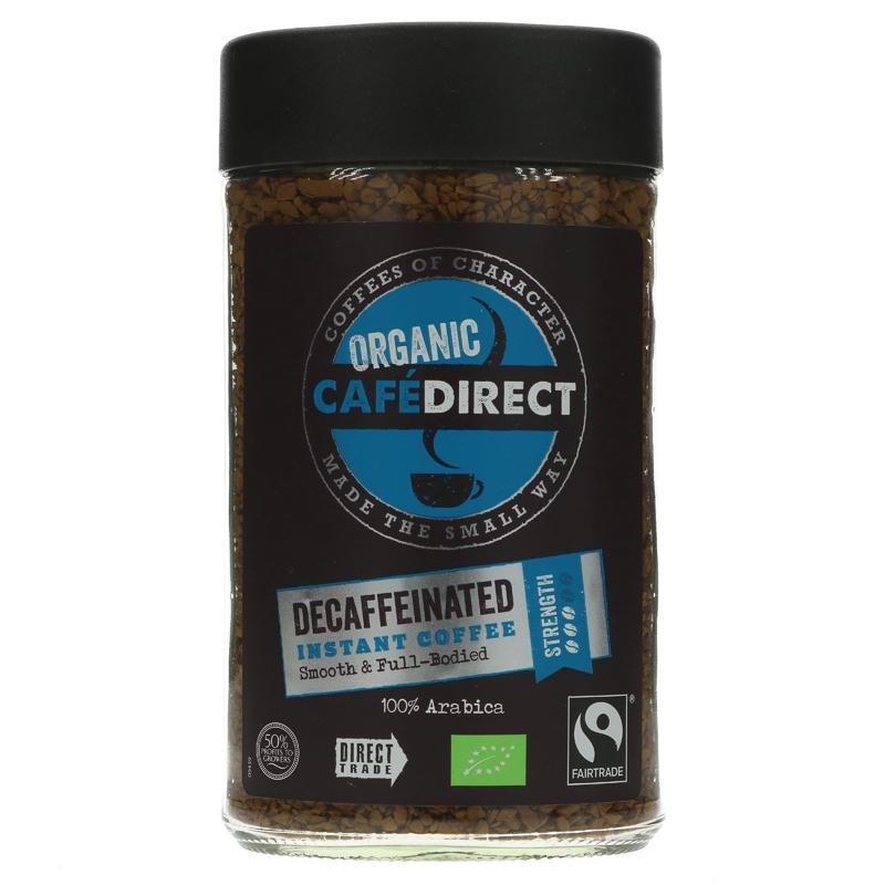 Cafedirect Decaffeinated Organic (100g)