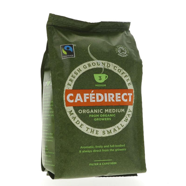 Cafedirect Medium Roast & Ground Organic (227g)