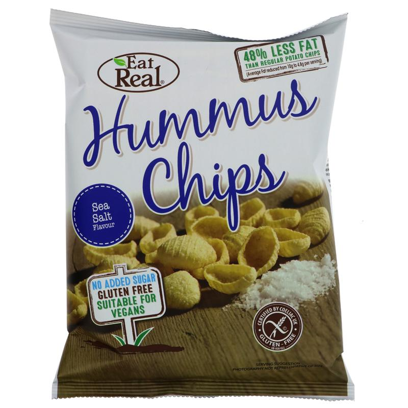 Eat Real Humus Sea Salted Chips (45g)