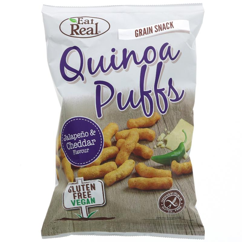 Eat Real Quinoa Puffs Cheese Jalapeno (113g)