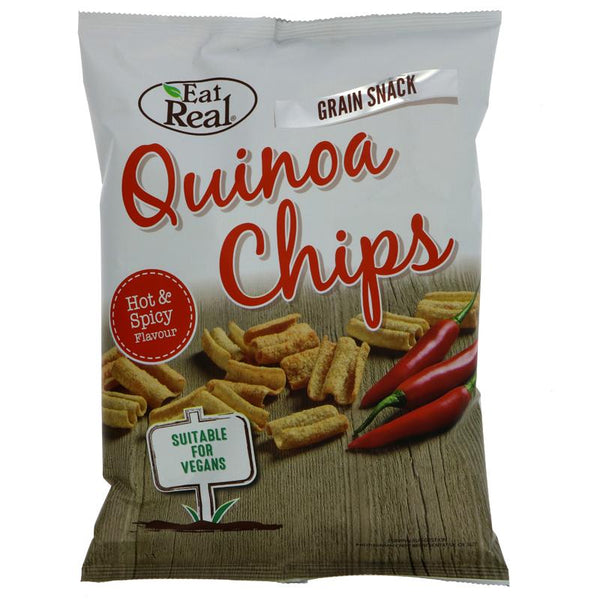 Eat Real Quinoa Chips Hot and Spicy (80g)