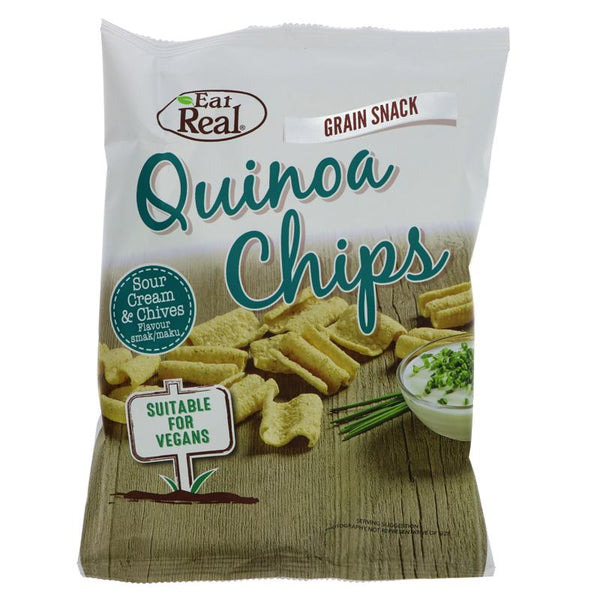 Eat Real Cream & Chive Chips (30g)