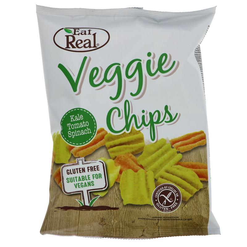 Eat Real Veggie & Kale Chips (40g)