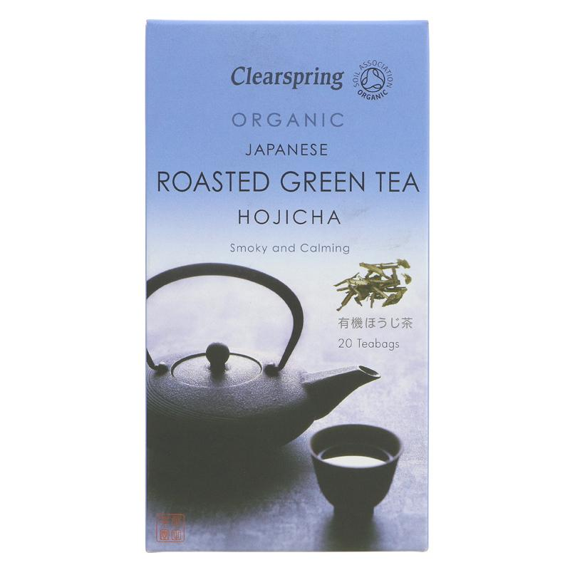 Clearspring Hojicha Roasted Green Tea (20 bags)