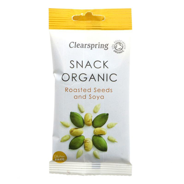 Clearspring Roasted Seeds & Soya Snack (35g)