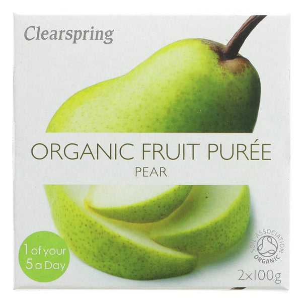 Clearspring Pear Puree - Organic (2 x 100g)