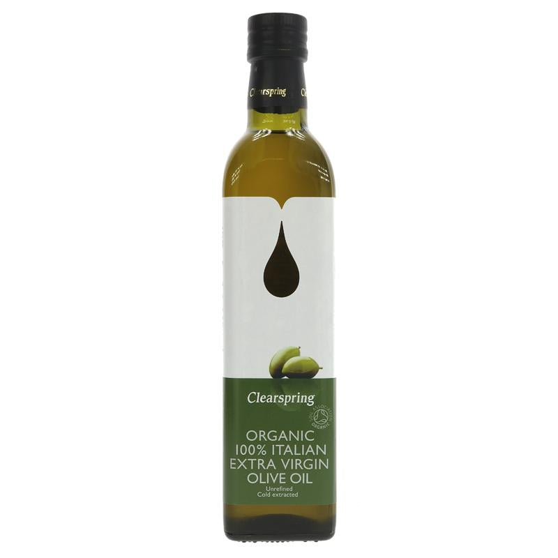 Clearspring Italian Olive Oil Organic (500ml)