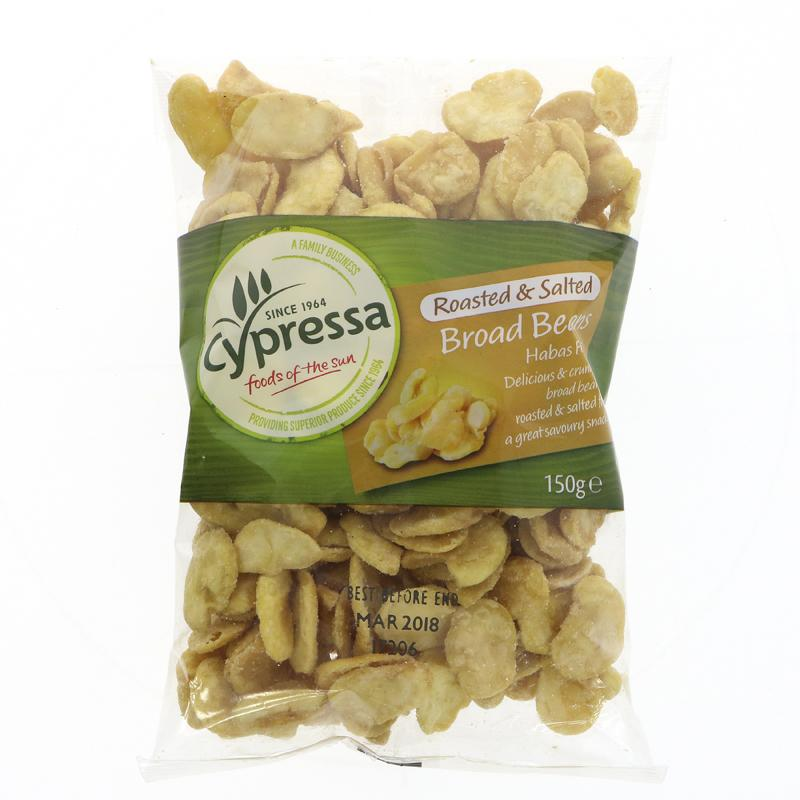 Cypressa Roasted and Salted Broad Beans (150g)