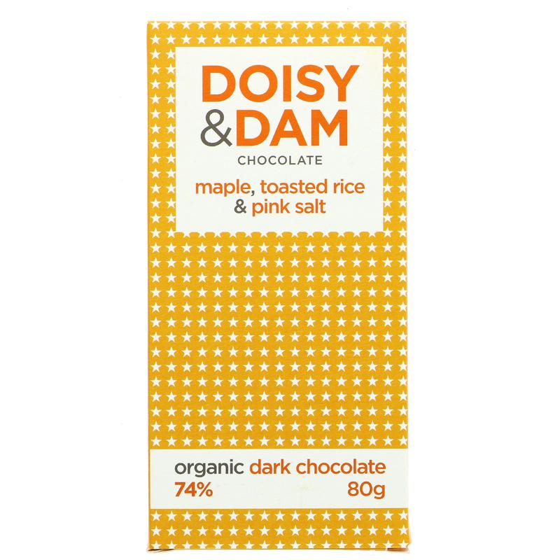 Doisy & Dam Maple, Toast Rice & Pink Salt  (80g)