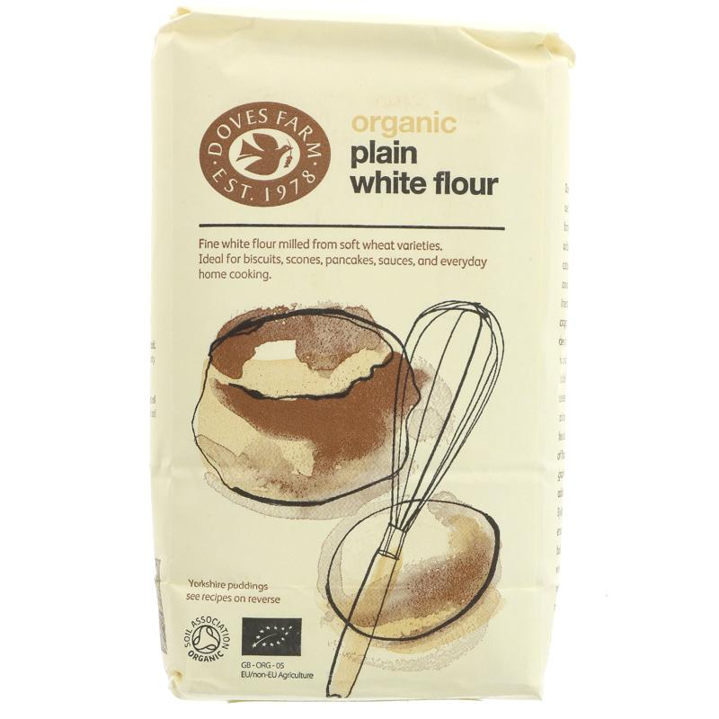 Doves Farm Fine Plain White Flour (1kg)