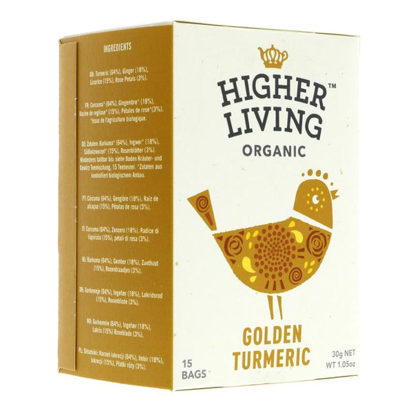 Higher Living Golden Turmeric (15 bags)