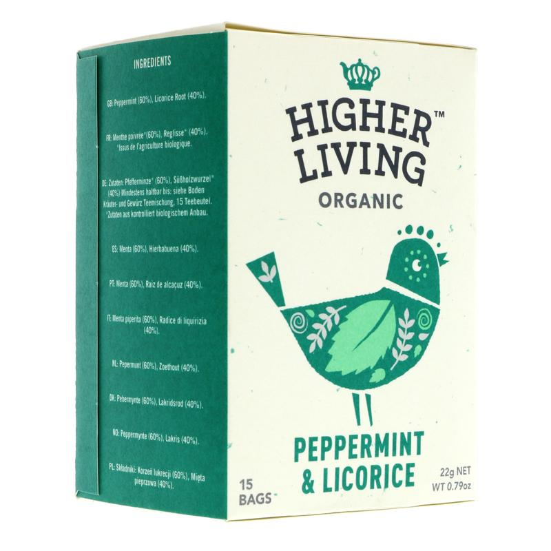 Higher Living Peppermint Licorice (15 bags)