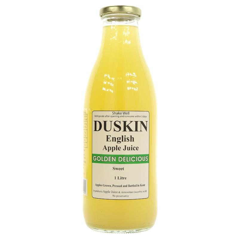 Duskin Apple Juice - Golden Delicious (1L)