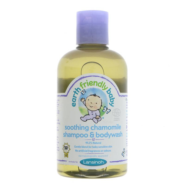 Earth Friendly Baby Chamomile Shampoo & Wash organic (250ml)