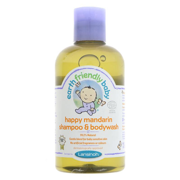 Earth Friendly Baby Organic Mandarin Shampoo & Bodywash (250ml)