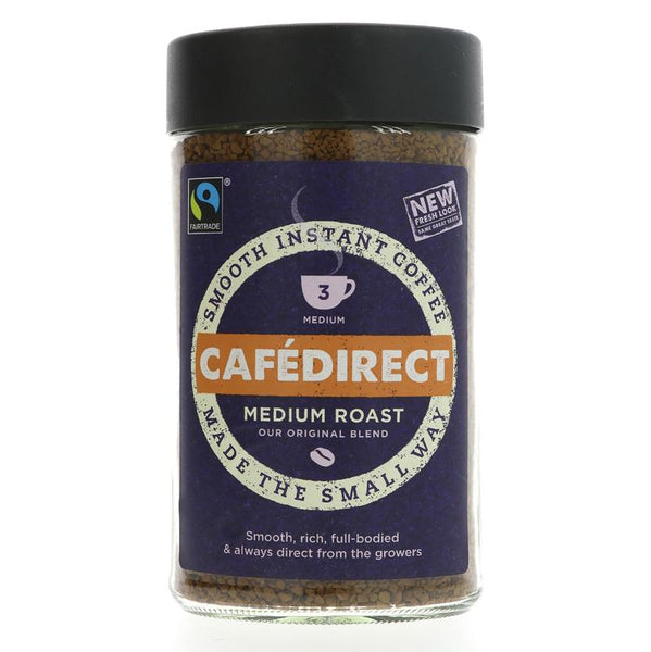 Cafedirect Classic, medium roast instant (200g)