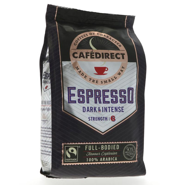 Cafedirect Espresso Roast & Ground (227g)