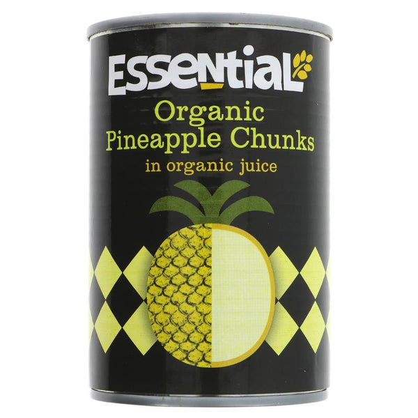 Essential Trading Pineapple Chunks In organic Juice - 400g