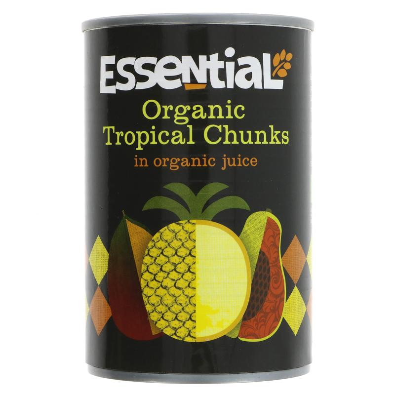 Essential Trading Tropical Fruits in Organic Juice - 400g