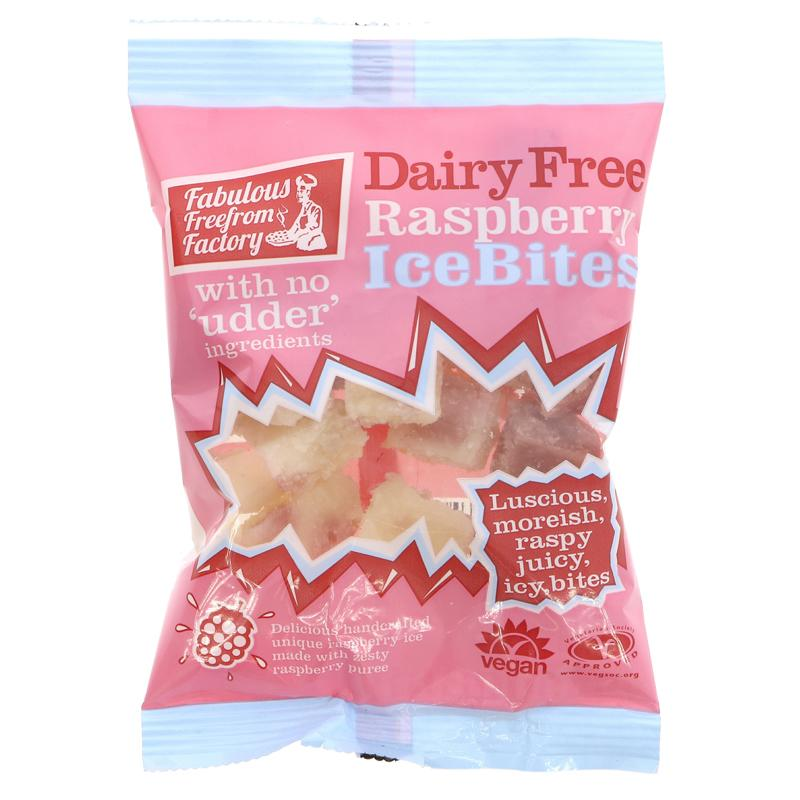 Fabulous Freefrom Factory Raspberry Ice Bites (75g)