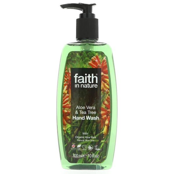 Faith Aloe Vera & Tea Tree Hand Wash (300ml)
