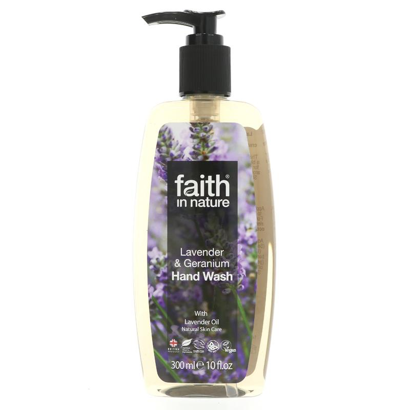 Faith Lavender & Geranium Hand Wash (300ml)