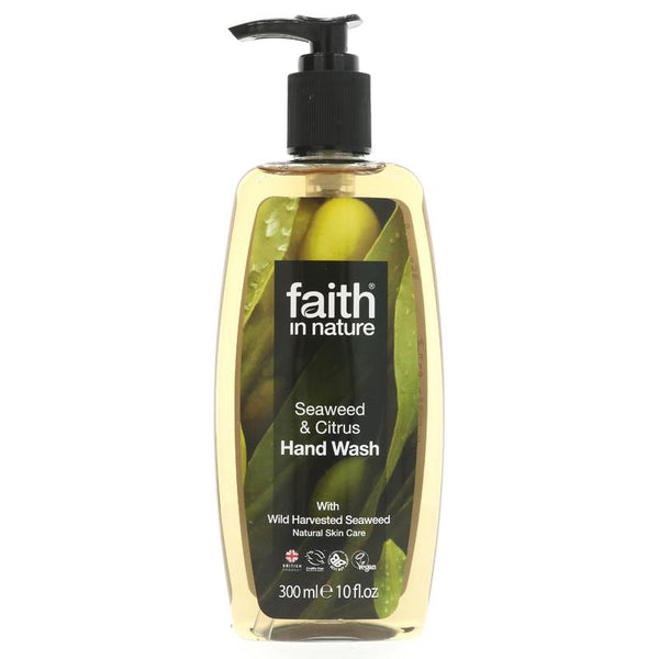 Faith Organic Seaweed Handwash (300ml)