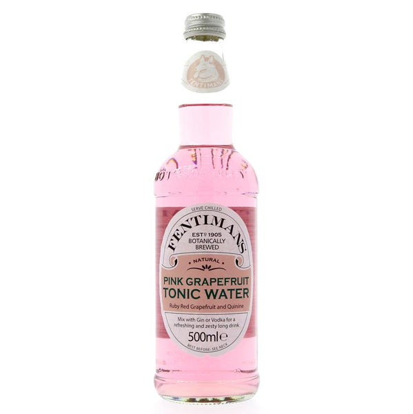 Fentimans Pink Grapefruit Tonic Water (500ml)