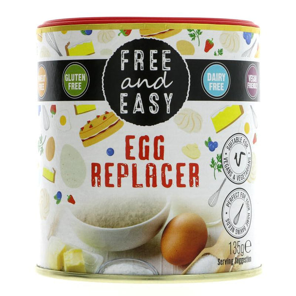 Free & Easy Egg Replacer (135g)