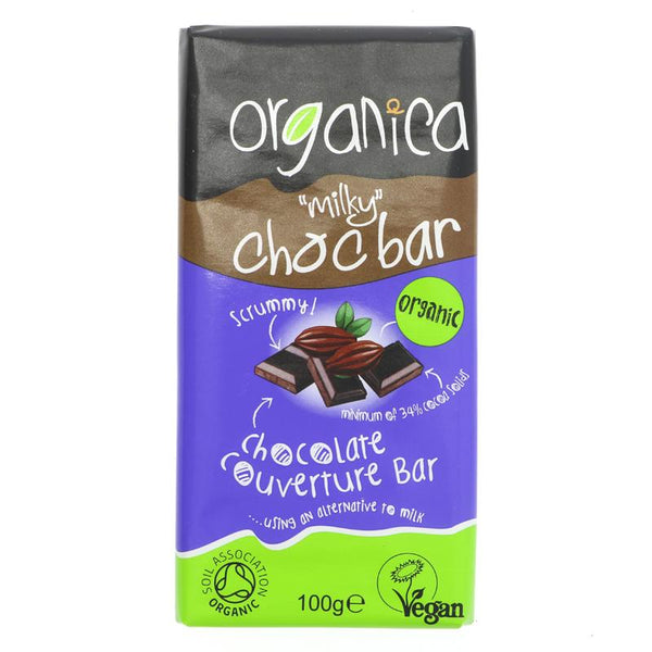 Organica Non Dairy Milk Chocolate (100g)
