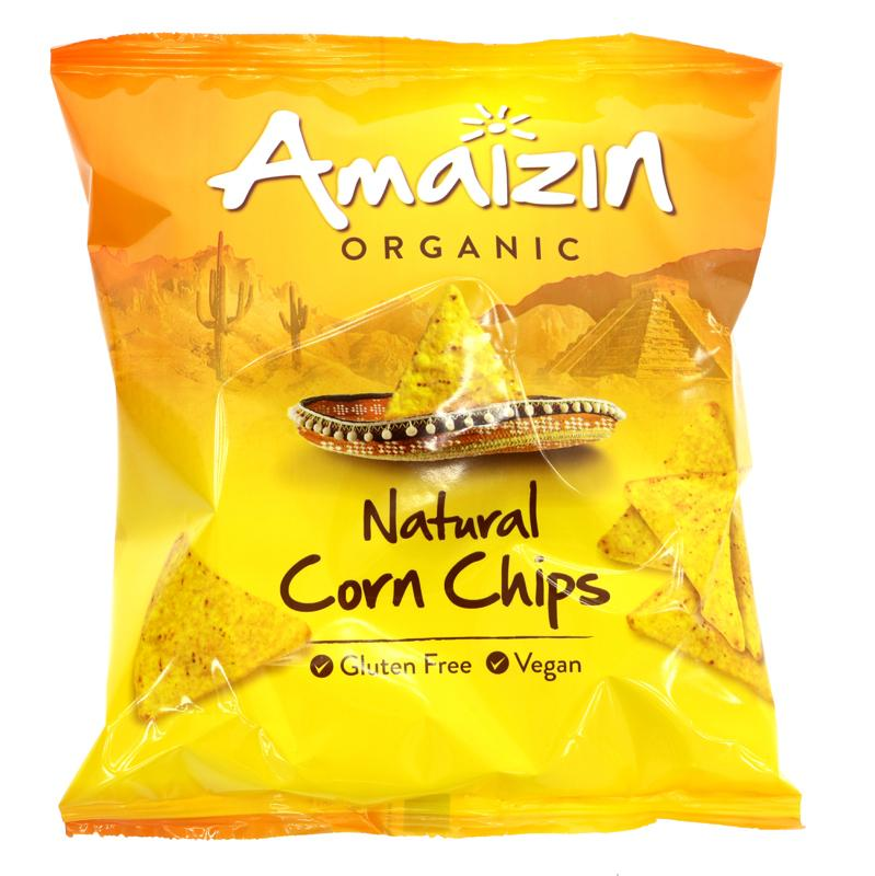 Amaizin Bio Corn Chips Natural (75g)