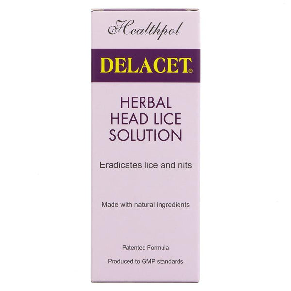 Healthpol Delacet - Head Lice Solution (100ml)