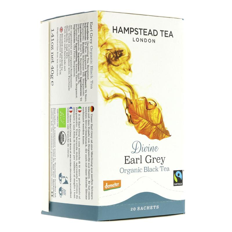 Hampstead Tea Divine Earl Grey (20 bags)
