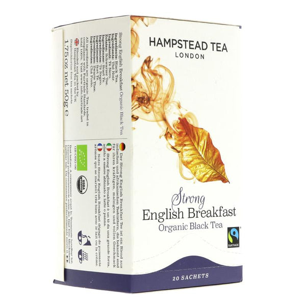 Hampstead Tea Strong English Breakfast (20 bags)