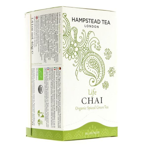 Hampstead Tea Life Chai (20 bags)