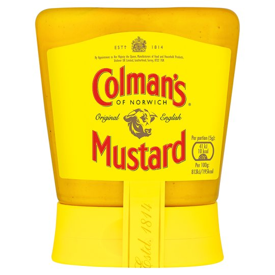 Colman's Original English Squeezy Mustard (150g)