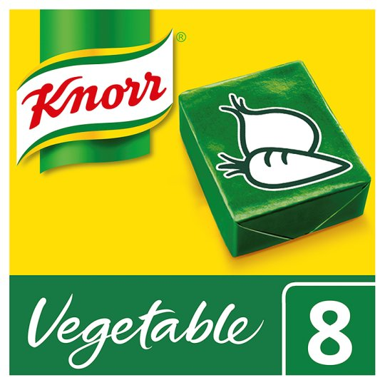 Knorr Vegetable Stock Cubes 8 X 10g (80g)