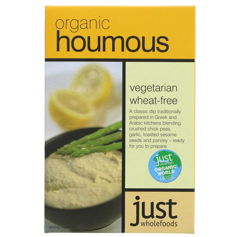 Just Wholefoods Houmous Mix - Organic (125g)