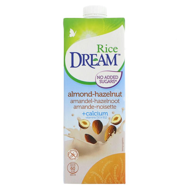 Rice Dream Rice Dream - Hazelnut & Almond (1ltr)