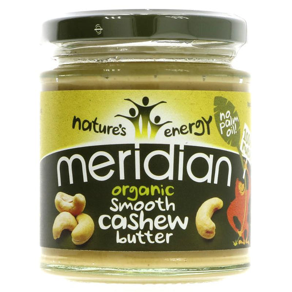 Meridian Cashew Butter Smooth Organic (170g)