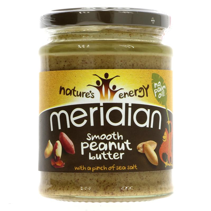 Meridian Peanut Butter - Smooth + Salt (280g)