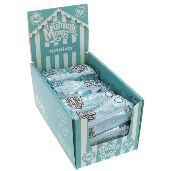 Mummy Meagz Mint Rocky Road Cake Bar (55g)