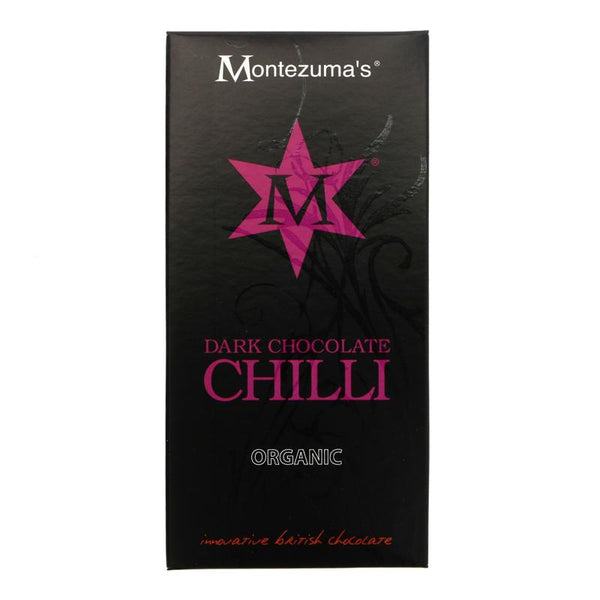 Montezumas Dark Chocolate & Chilli (100g)