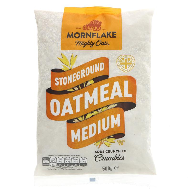 Mornflake Medium Oatmeal (500g)
